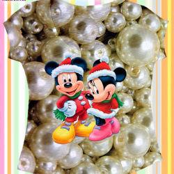 Camisetas Personalizadas T-shirts Mickey Minnie de Natal