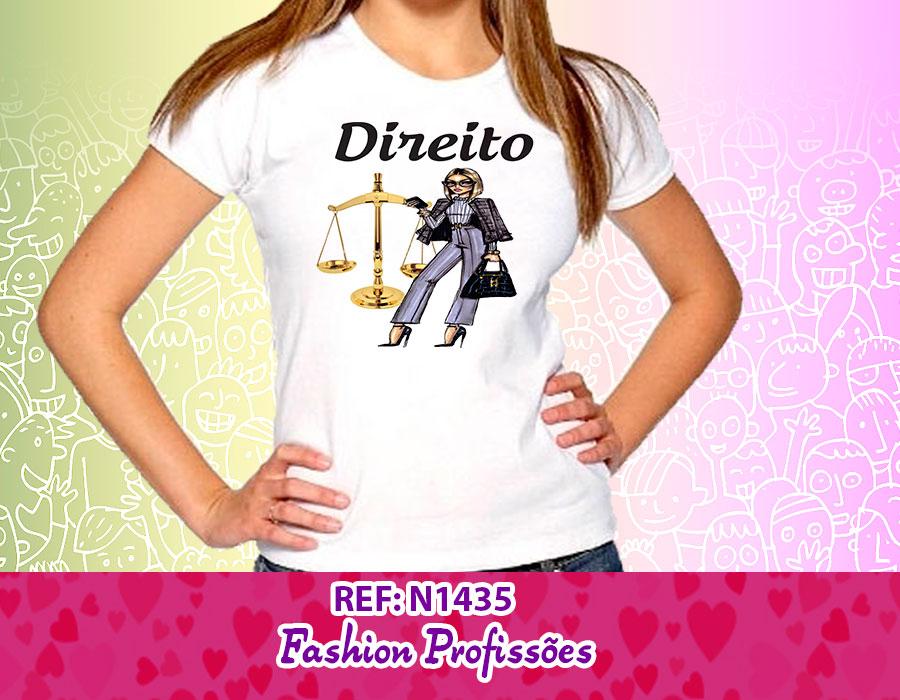 Camisetas Faculdade Blusa Tema Profissões Femininas