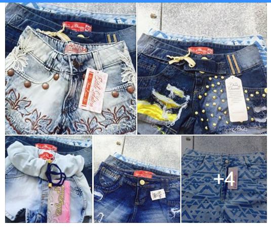 Short Jeans Atacado Barato R$18,00