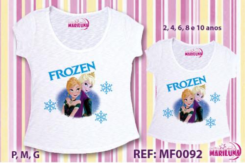 Tal Mãe Tal Filha Frozen Camisetas Personalizadas