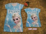 Vestido Tal Mae Tal filha Frozen