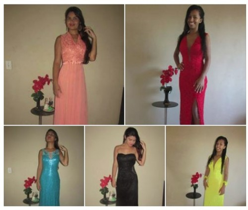 Vestidos de Festa Aluguel R$80,00 Fortaleza