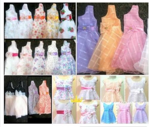 Vestido Infantil Princesa R$10,00 atacado