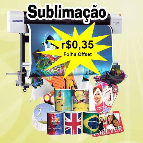 Sublimação Fortaleza Folhas R$0,35 Camisetas Personalizadas