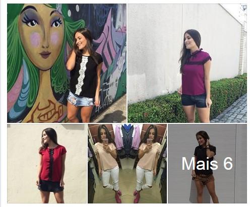 Blusa de Viscose Vitoriana R$12 Dona Tela Atacado