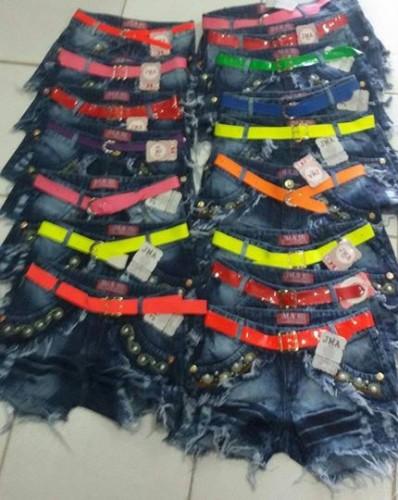 Short Jeans Atacado R$22 Nova Coleção