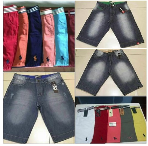 Bermuda Jeans Masculino Atacado R$23