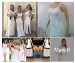 Vestidos Brancos Tricot Ano Novo 2017 Dreka Modas