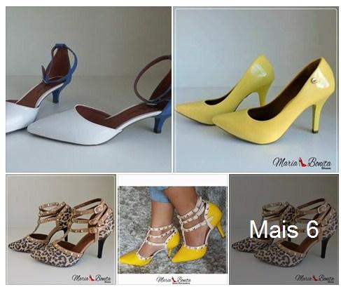 Sandalias e Sapatos Maria Bonita