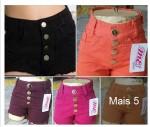 Short Cintura Alta Hot Pant R$15 Atacado