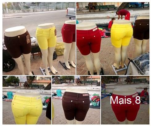 Short Jeans Plus Size Atacado