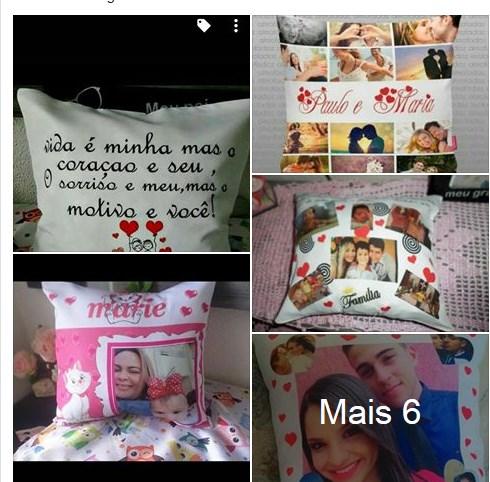 Almofadas Personalizadas R$15