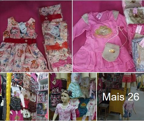 Conjunto Infantil Feminino R$20 Fortaleza Atacado