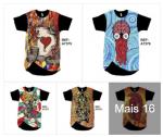 Camisetas Longline Mariluna Moda Atacado