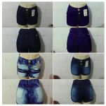 Short Jeans Feminino R$16 Atacado Cuida