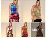 Vestidos Longos R$35 Atacado Via Rosa Luxo