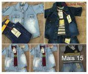 Moda Jeans Infantil R$25 Atacado Mimos da Luanna