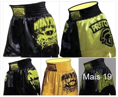 Short Muay Thai Para Revenda R$15 Lutador Atacado