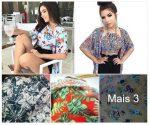 Conjunto Kimono e Cropped R$25 Atacado