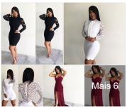Vestidos de Renda R$25 Festas Direto da Fabrica Feira da Madrugada