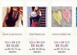 Body Feminino Livia Fashion Direto da Fabrica