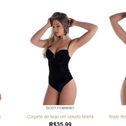 clicksophia body feminino direto de fabrica 1