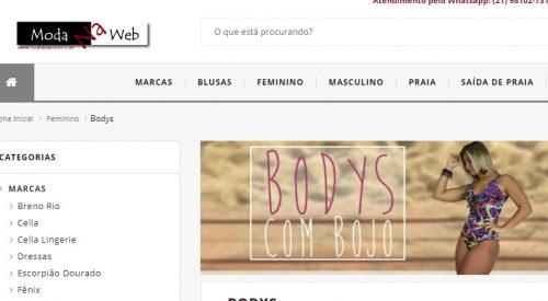 Loja Moda na Web Body Atacado e Varejo