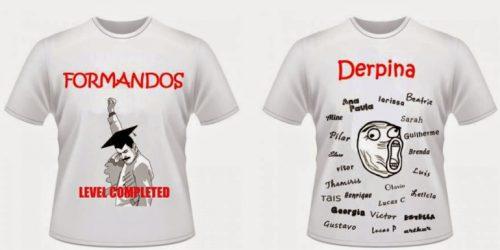 10 Camisetas de Formatura Criativas 1