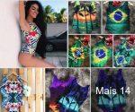 Body Feminino R$12 Atacado Loja 7 Dimensões