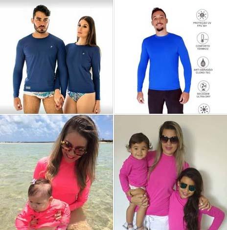 Camisetas com proteção UV 50 R$28 Masculina e Feminina  Fortaleza