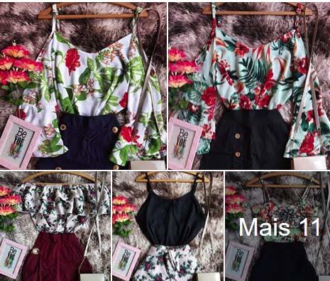 Coleção Março Lovely store Conjuntos R$45 Atacado Fortaleza